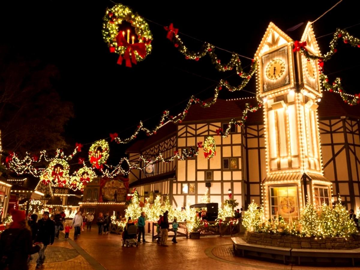 Busch Gardens at Christmas